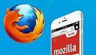 iOS İçin Firefox Çıktı