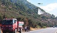 Kaz Dağları'nda 5 Hektar Ormanlık Alan Kül Oldu