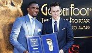 Golden Foot Ödülü Samuel Eto'o'nun