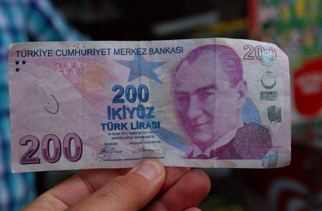 1. Öncelikle şunu öğrenelim: Yerde 200 Lira buldun, bununla ilk ne yaparsın?