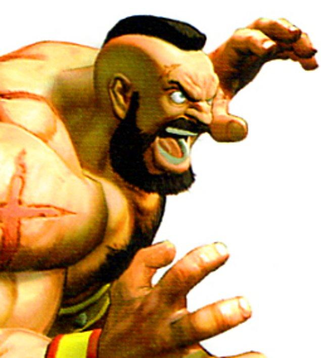 11. Yasin Öztekin - Zangief (Street Fighter)