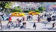 Ankara'daki Patlama Güvenlik Kamerasında