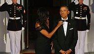 Başkanın Papyonunu Düzelten Michelle Obama ve Photoshop Trollerinden Çektikleri