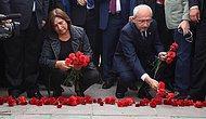 Kılıçdaroğlu, Eşi ile Birlikte Patlama Noktasına Karanfil Bıraktı