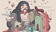 Batı Standartlarında Anadolu Rock: Beyin Yakan 23 Saykodelik Çizimle Efsane Anadolu Rock Eserleri