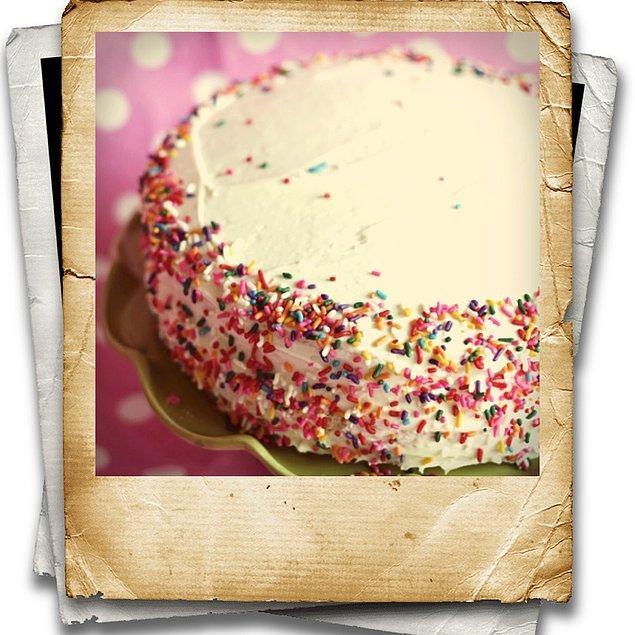 9. Son olarak doğum günü pastası!