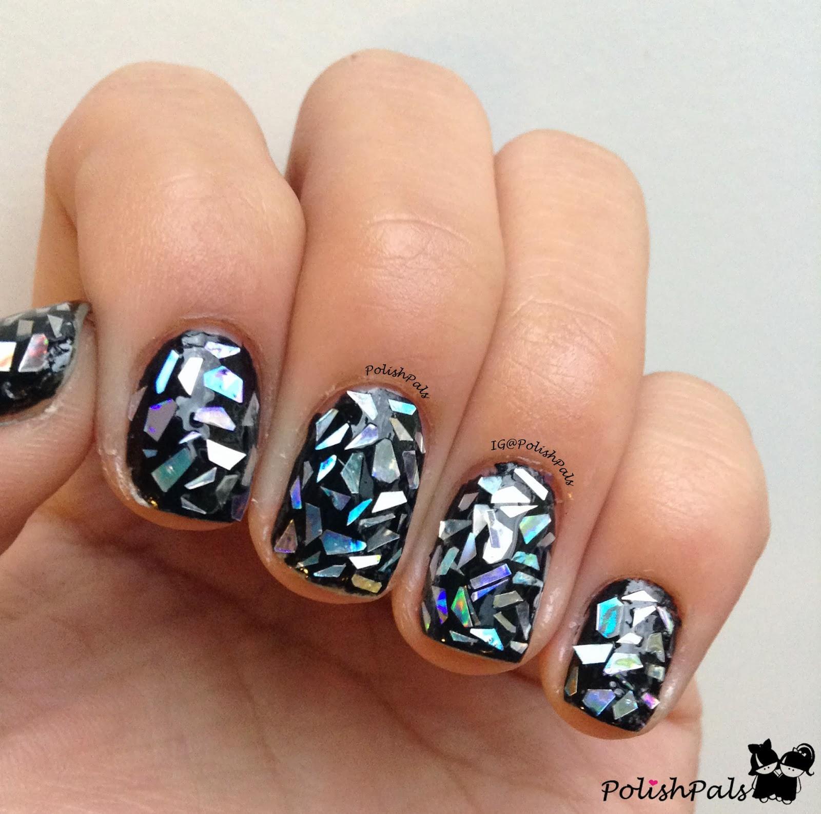 Фото битого стекла ногти