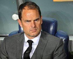 """De Boer: """"Final paslarını yapamadık"""""""