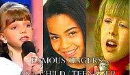İkon şarkıcıların daha ip atlama dönemlerinde söylediği mükemmel şarkılar