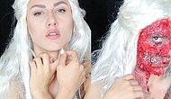 Game of Thrones - Khaleesi Makyajı | Halloween Makeup Tutorial