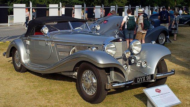 1937 Mercedes-Benz 540K Spezial Roadster - $9,680,000