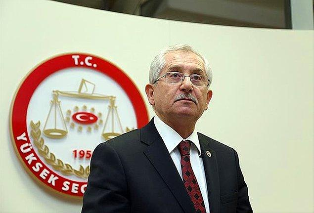 22:55 | YSK Başkanı: 'Kesin sonuçlar 11-12 gün sonra açıklanacaktır'