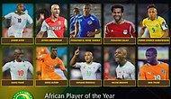 Afrika'da Yılın Futbolcusu İçin 10 Aday