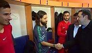 Çipras ile Olcay Arasında İlginç Beşiktaş Diyaloğu