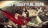 çamlıcada yapılan büyük camiye tırmanan çılgın türkler
