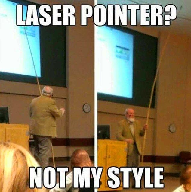 """13. """"Lazer mi? Tarzım değil."""" diyen bu öğretmen."""