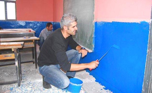 """4. O """"okulu"""" okul yapmaya çalışırken; yeri geldiğinde boyacı, yeri geldiğinde de hademe olabilmektir."""
