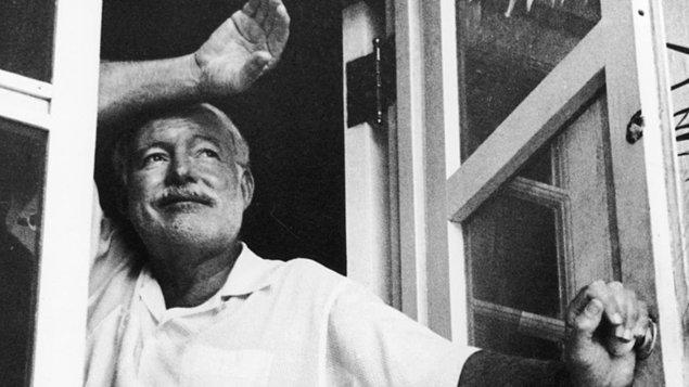 4. Her şeyin boş olduğuna dair fikirler: Ernest Hemingway