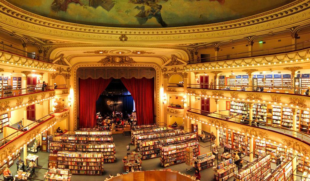 Kitapların Arasında Kaybolacağınız Dünyanın En Güzel 24 Kitapçı Dükkânı