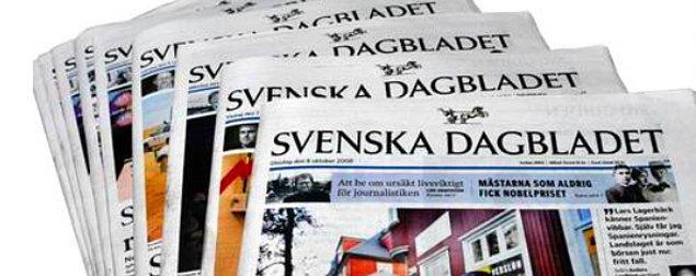 Svenska Dagbladet: Türkler silahları açığa çıkarttıkları için yargılanıyor