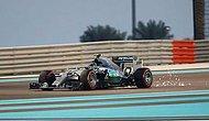 Abu Dabi'de İlk Cep Rosberg'in