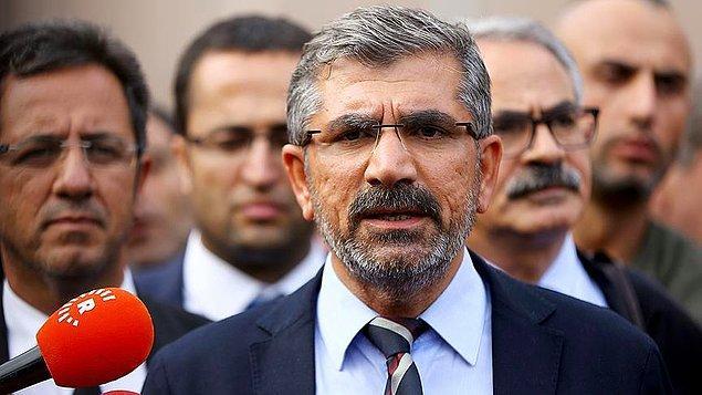 Tahir Elçi'nin öldürülmesi: 'Failin PKK'lı olduğu güçlü bir ihtimal olarak karşımızdadır'