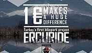 1 Euro ile Erciyes Dağı'na bisiklet parkı kampanyası
