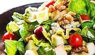 Cevizli Elma Salatası