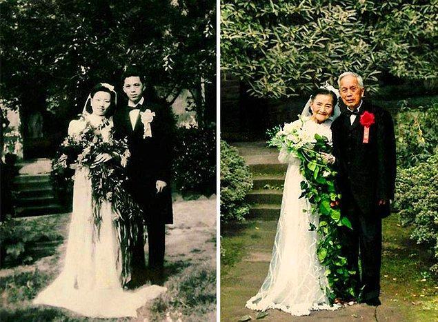 Ван Дейи и Цао Юэхуа поженились в 1945