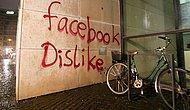 Facebook'un Binasına Taş, Sopa ve Gaz Bombasıyla Saldırı