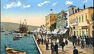 Büyük İzmir Yangını Öncesi Renkli Kartpostallardan İzmir Manzaraları