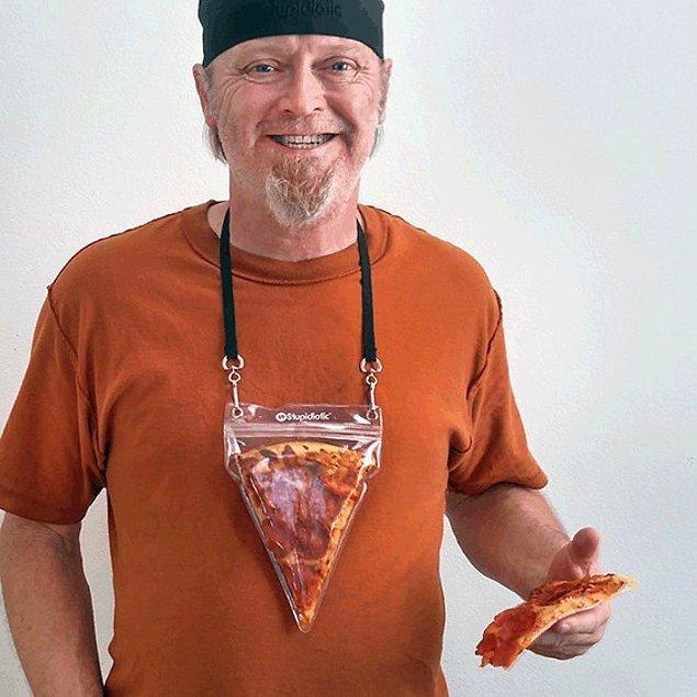 Переносной футляр для пиццы.