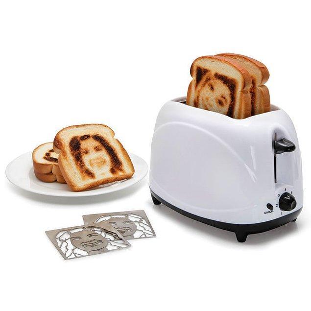Селфи-тостер.