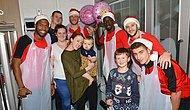 Klopp ve Liverpool Oyuncularından Hastanedeki Çocuklara Noel Ziyareti