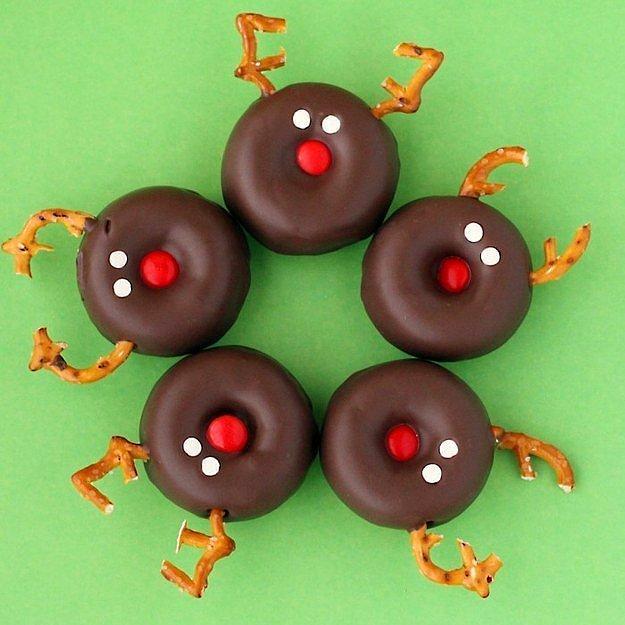 Пончики «Северные олени».