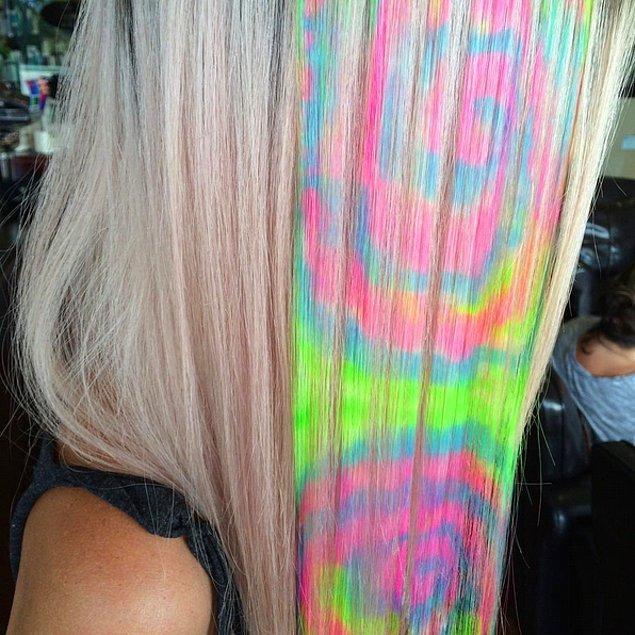 Разноцветные волосы в стиле хиппи не стоят того, чтобы каждый раз, когда ты моешь голову, твоя ванна выглядела, как место расчленения единорога.