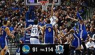 Stephen Curry'siz Golden State Dağıldı