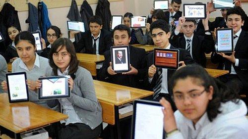 Öğrencilerden Satılık Fatih Projesi Tableti