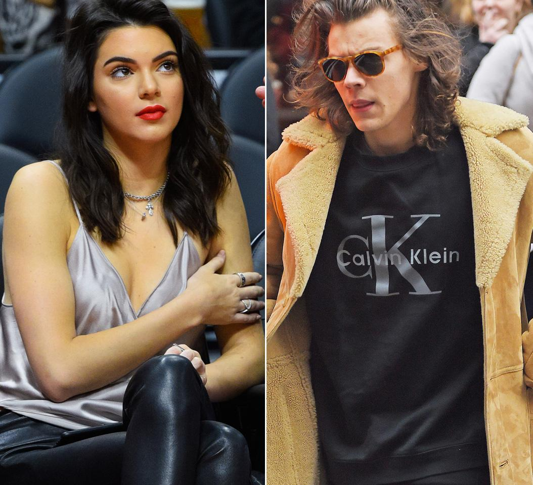 harry styles and kendall jenner - 669×609