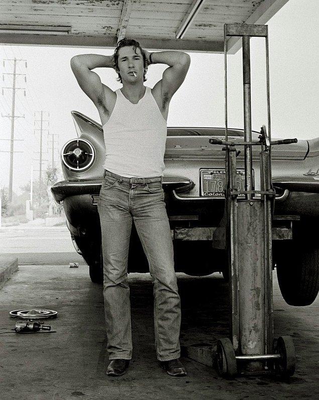 7. Richard Gere'ın yakın arkadaşı fotoğrafçı Herb Ritts'in 1978 senesinde, Kaliforniya'da çektiği fotoğraf.