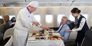 Dünya'nın En İyi Uçak Yemekleri Seçildi: Türk Hava Yolları Yine Göğsümüzü Kabarttı!