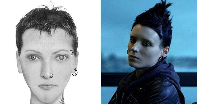 """Лисбет Саландер. """"Девушка с татуировкой дракона"""" Стига Ларссона."""