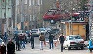 Niğde'de Muhtara Davetsiz Misafir: Muhtarlığın Çatısına Otomobil Düştü