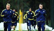 Fenerbahçe'de Van Persie Takımla Birlikte Çalışmalara Başladı