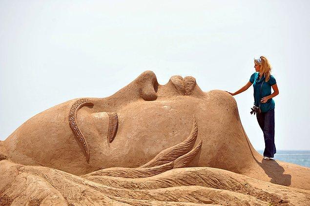 10. Uluslararası Antalya Kum Heykel Festivali