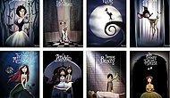 'Disney Filmleri Tim Burton'ın Elinden Çıksa Nasıl Olurdu?' Diyenlere 10 Eğlenceli Çalışma