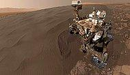 NASA'nın Uzay Aracı Mars'tan 'Selfie' Gönderdi