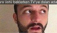 37 Ekran Boyu Türlü Türlü Huyuyla Müşteriyi Hipnotize Eden Bakkal Televizyonu