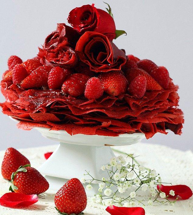 14. Hazır sevgililer günü yaklaşırken yatağa götürülecek en güzel şey!