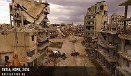 Savaşın Korkunç Yüzü: Suriye'nin Drone ile Havadan Çekilmiş Görüntüleri
